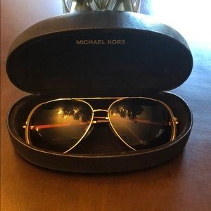 Michael Kors Gold Aviators